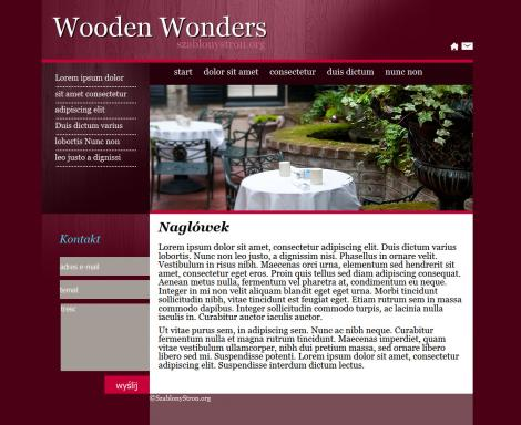 Wooden Wonders Wine